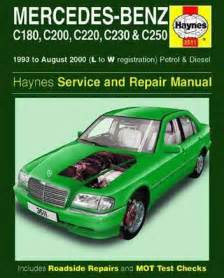 mercedes benz c class w202 1993 2000 repair manual