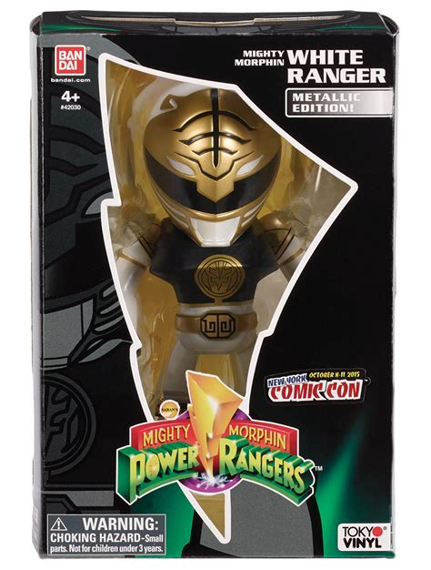 Funko Pop Original Power Rangers White Ranger Limited Edition bandai mighty morphin power rangers white ranger metallic
