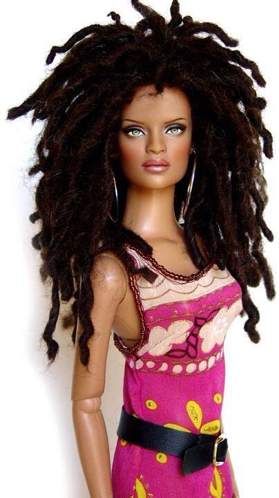 black doll with dreads 88 best images about talzio on black