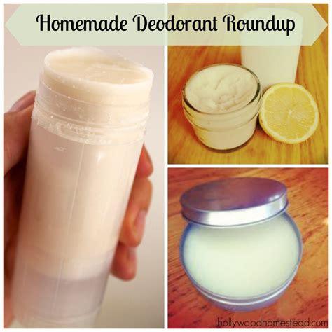 Handmade Deodorant - deodorant roundup homestead