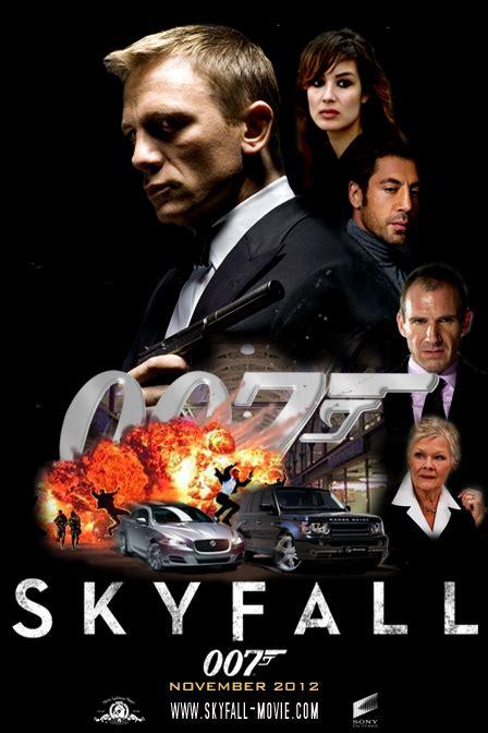 film james bond 007 hot skyfall teaser poster kiss kiss bang bang