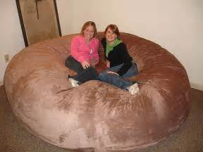 giant lovesac huge bean bag chair lovesac love sac comfy sack fombag