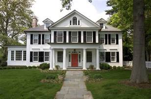 Colonial Homes by The Most Popular Iconic American Home Design Styles