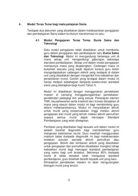 Handbook Pengajaran Dan Penbelajaran Sains modul pengajaran dan pembelajaran sains tahun 3 sjkt