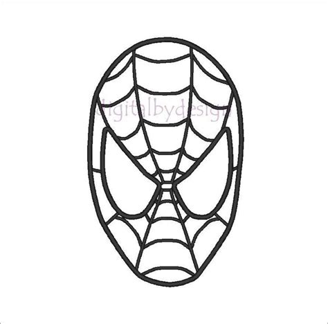spiderman head pattern spiderman face template cliparts co