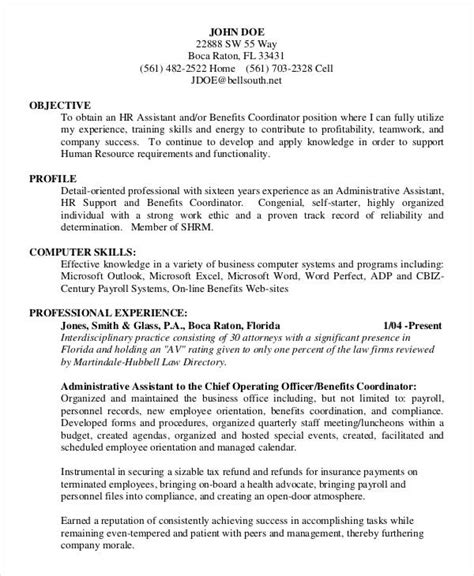 Administrative Officer Resume Pdf by 25 Administration Resume Templates Pdf Doc Free