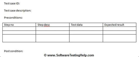 Sign Template For Testing by Writing Test Cases From Srs Document With Sle Test