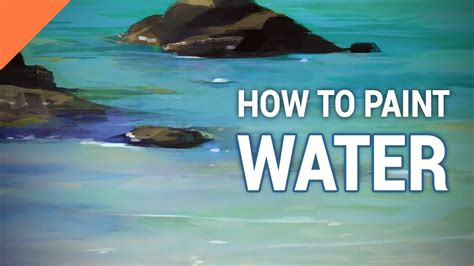 how to paint how to paint water in photoshop youtube