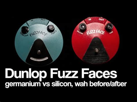 germanium vs silicon fuzz pedal analogman sunface nkt 275 fuzzface pedal demo telecaster doovi