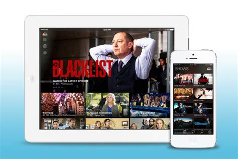 nbc tv app for android nbc begins offering live tv via mobile apps