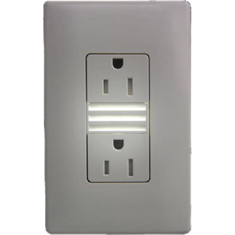 led light outlet pass seymour ntl885trwcc6 duplex ter resistant