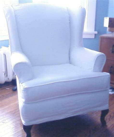 white wing chair slipcover wing chair slipcovers suzy slipcover pretty slipcovers