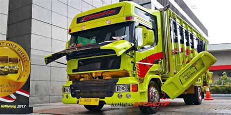 Bak Truk Sah mitsubishi mau bikin kontes modifikasi truk