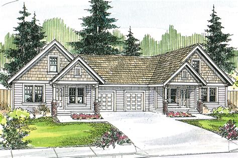 House Pla Craftsman House Plans Donovan 60 007 Associated Designs