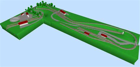 Home Planes l shaped minitrix layout in n