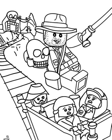 indiana jones lego coloring pages free pinterest the world s catalog of ideas