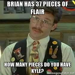 Office Space Flair Meme Stan Flair Office Space Meme Generator