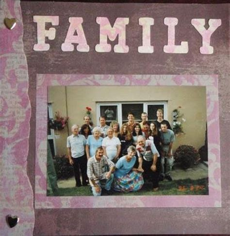 themes related to family themes that related to family scrapbook ideas for family