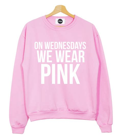 Pink Shirt Meme - on wednesdays we wear pink mean girls quote memes