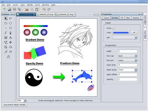 doodle edit picture kiyut sketsa svg editor features