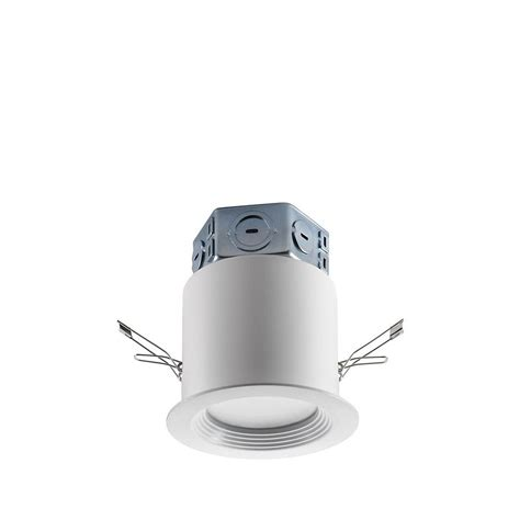 4 led recessed lighting shop utilitech pro white integrated led remodel and new