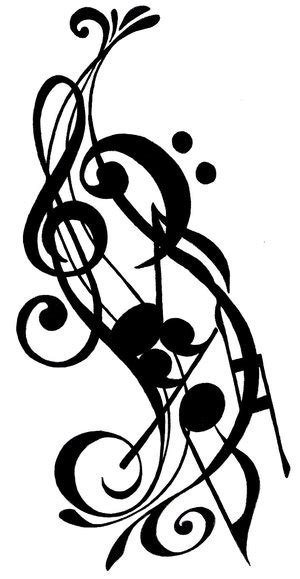 music symbol tattoo designs musical notes symbols tattoos clipart panda free