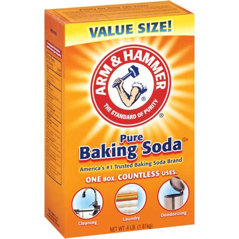 baking sofa arm hammer pure baking soda 4 lb walmart com