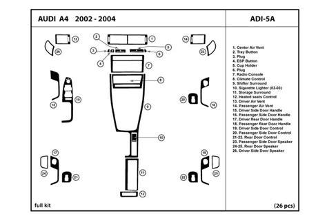 2004 audi a4 diagram wiring diagram with description