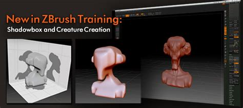 zbrush shadowbox tutorial pixologic zbrush blog 187 new zbrush training courses