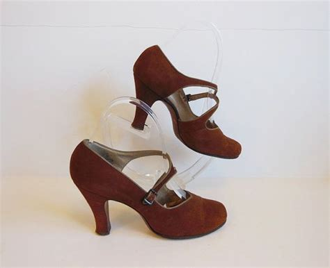 baby high heel shoes 40s shoes vintage 1940 s strappy baby doll high heel shoes