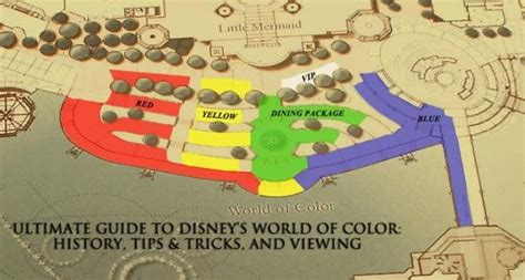world of color sections ultimate guide to disney s world of color history tips