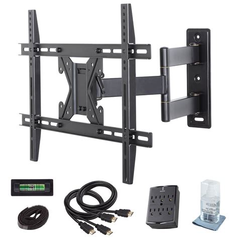 Tv Wall Mount commercial electric motion tv wall mount kit for 26 in 70 in tvs xd2470 the home depot