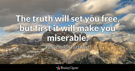 james  garfield  truth  set
