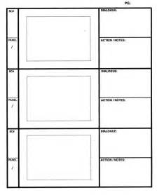 Storyboard Panels Template by Pics For Gt Storyboard Template Pdf Print