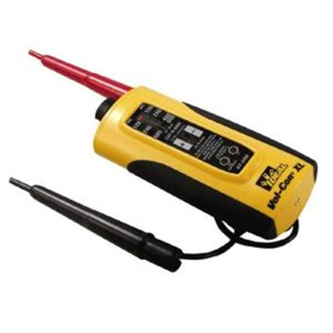 ideal vol con xl voltage and continuity tester 61 086