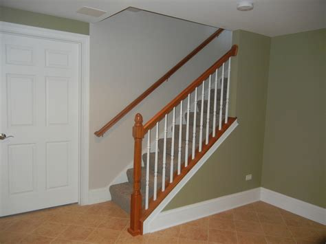 impressive finishing basement stairs decorating ideas