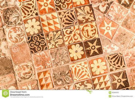 Church Designs And Floor Plans medieval tiles stock photography image 32283042