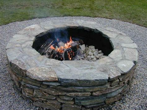Make Your Own Firepit Decoration Build Your Own Pit Ideas How To Build Your Own Pit Pit Coffee Table