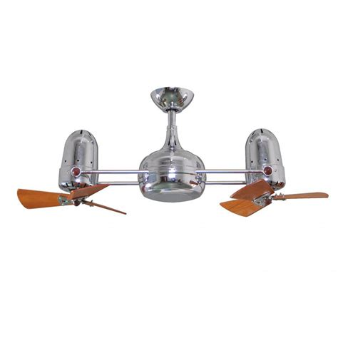 163 56 large aluminium kitchen ceiling l h42 d45 dagny wood dual rotational ceiling fan brushed nickel
