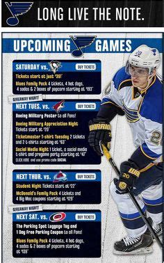 St Louis Blues Ticket Gift Cards - 1000 images about nhl emails on pinterest panthers