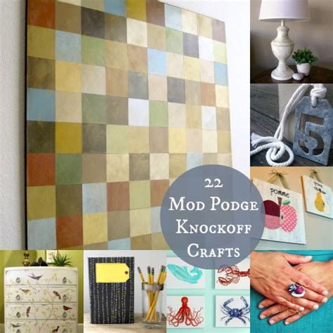 mod podge crafts for 22 mod podge diy knock projects mod podge rocks
