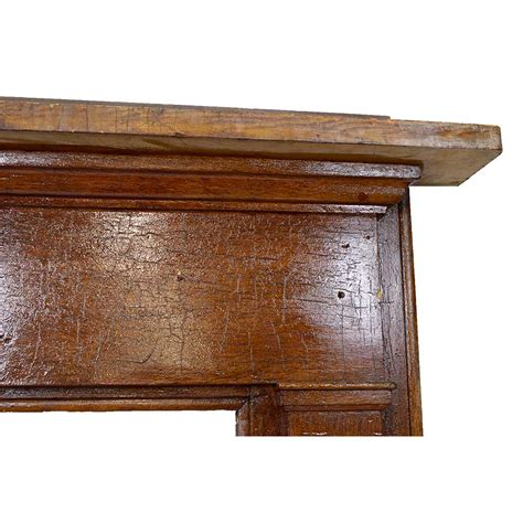 salvaged wood salvaged wood fireplace mantel