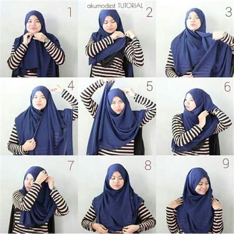 tutorial hijab simple dan menutup dada 11 tutorial hijab menutup dada sopan anggun dan tetap