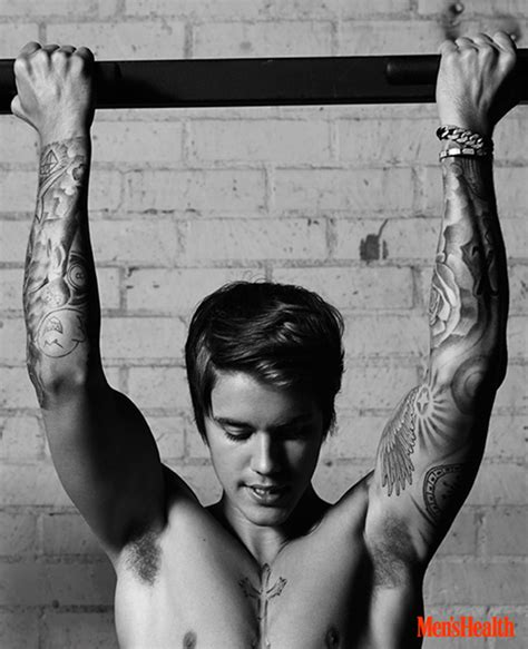 justin bieber bench press justin bieber men s health april 2015 cover photo shoot