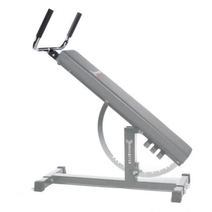 ironmaster bench ironmaster dip bar handle attachment for super bench