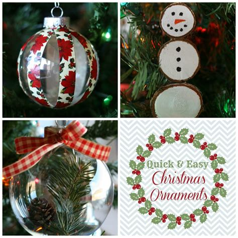 quick easy christmas ornaments addicted 2 diy