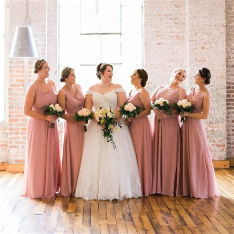 bridesmaid dress colors the best bridesmaid s dress colors for fall weddings