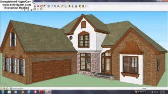 House Design Sketchup Youtube by Sketchup House 7 My Dream Home Youtube