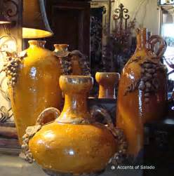 Tuscan Style Kitchen Canisters tuscan style rustic terra cotta pottery ceramic urns