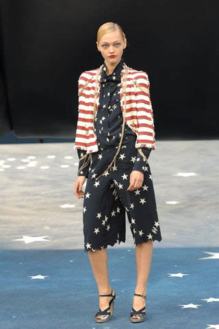 Guess Where This Is From 24 Catwalk by Chanel Summer 2008 Ready To Wear Pfw Vogue Co Uk